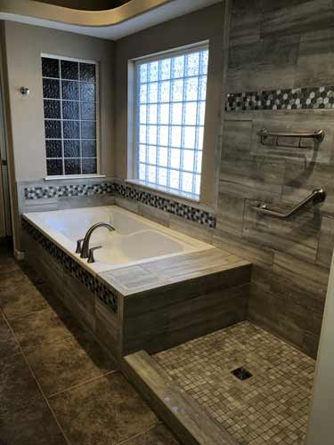 Custom Bath And Shower Tile